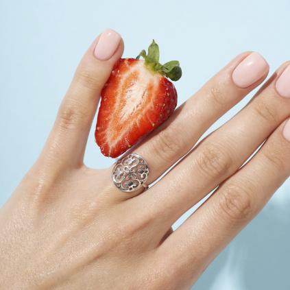 Кольцо серебряное Мандала Youko