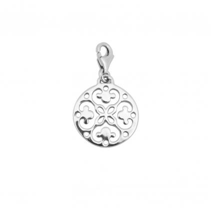 Шарм серебряный Мандала Youko на браслет