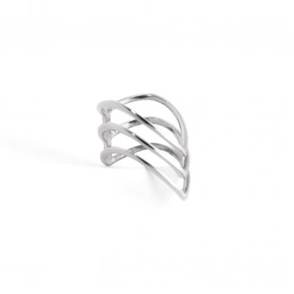 Кольцо серебряное Акула Youko