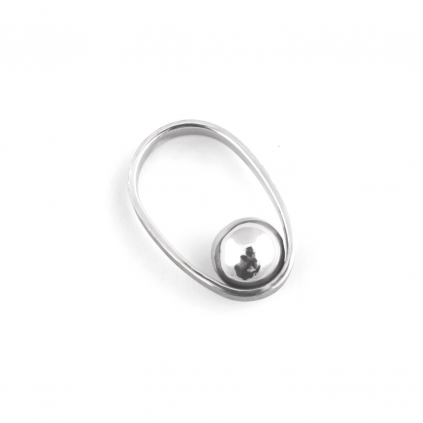 Кольцо серебряное Орбита Youko