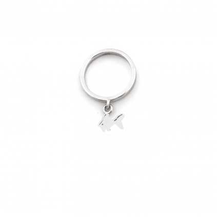 Кольцо серебряное Рыбка Youko
