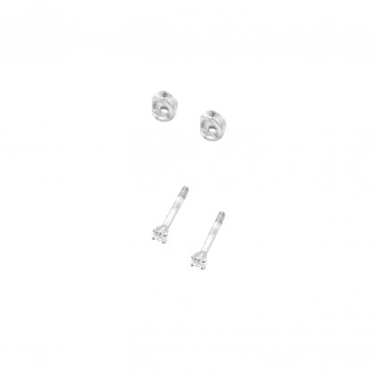 Серьги серебряные Циркон Youko