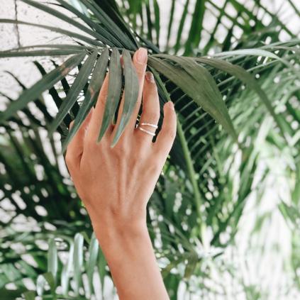 Кольцо серебряное Кельвин Youko