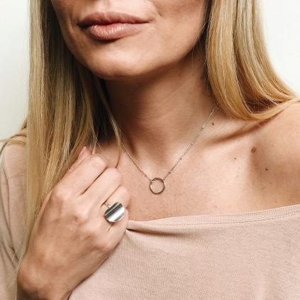 Кольцо серебряное Лепесток Youko