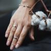 Кольцо серебряное Простое Youko