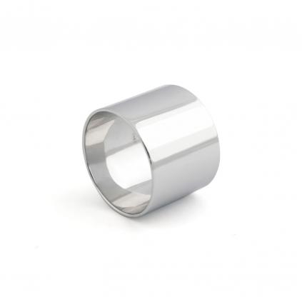 Кольцо серебряное Широкое Простое Youko