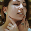 Кольцо серебряное Чалма Youko