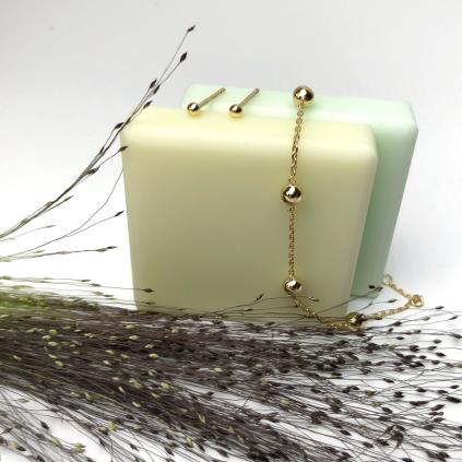 Серьги серебряные Зернышки 2-3 мм Youko