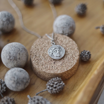 Подвеска серебряная Монета Антик Youko