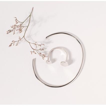 Кольцо серебряное Монетки Youko