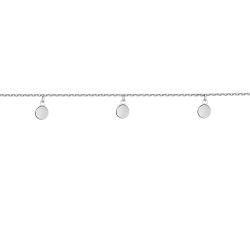 Браслет серебряный 5 Монеток подвесные 5 мм Youko