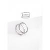 Кольцо серебряное Барабан Youko