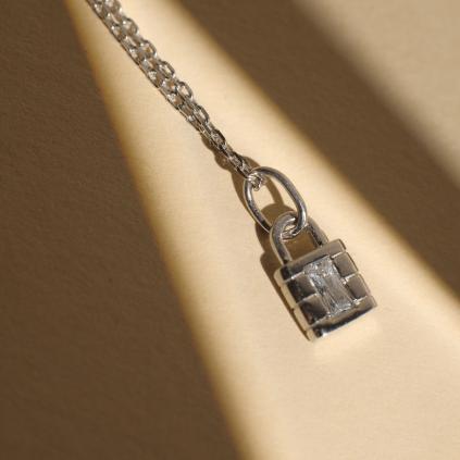 Кулон серебряный Замок Youko конструктор