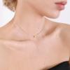 Подвеска серебряная Сердце Youko с эмалью желтое